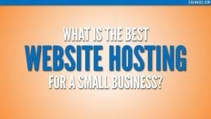 Web Hosting For Business Image